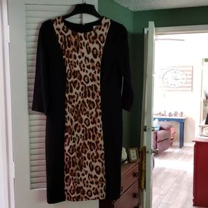 Chico's animal print dress